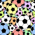 Football tile Royalty Free Stock Images