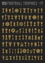 Football trophies Royalty Free Stock Photo