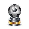 Football trophy Royalty Free Stock Photo
