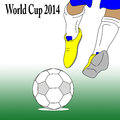 Football world cup Stock Photos
