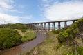 Footbridge at Kilcunda Royalty Free Stock Photo