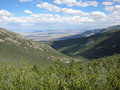 Foothills in the Great Basin National Park, Nevada Royalty Free Stock Photo