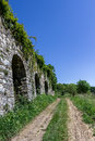 Footpath in countryside Royalty Free Stock Photo