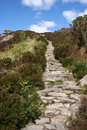 Footpath Leading Uphill Stock Photos
