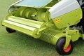 Forage harvester a pick up for a self propelled Stock Image