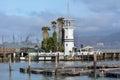 Forbes Island in Fisherman Wharf San Francisco CA Royalty Free Stock Photo