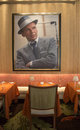 Forbes travel guide four star sinatra restauranginre på den extranummerlas vegas kasinot Arkivfoto