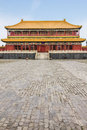 The forbidden city in beijing china Royalty Free Stock Image