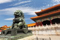The forbidden city beijing china Royalty Free Stock Photos
