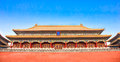 The forbidden city beijing china Royalty Free Stock Image