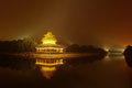 Forbidden city beijing china at night Royalty Free Stock Photos