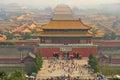 Forbidden City. Beijing. China Royalty Free Stock Photo