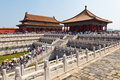 The Forbidden City, China Royalty Free Stock Photography