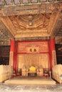 Forbidden City throne China Royalty Free Stock Photo