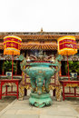 The forbidden city at hue vietnam Stock Photo