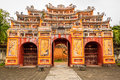 The forbidden city at hue vietnam Stock Images