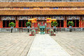 The forbidden city at hue vietnam Royalty Free Stock Photography
