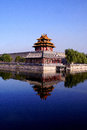 The Forbidden City turret Royalty Free Stock Photo