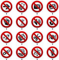 Forbidden signals