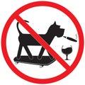 Forbidding Sign