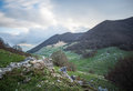 Forca d`Acero, access to Parco Nazionale d`Abruzzo, Italy Royalty Free Stock Photo
