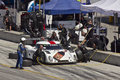 Ford Can-Am at pit stop at Grand AM Rolex Races Royalty Free Stock Photos
