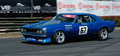 Ford Cobra Muscle Car Racing Stock Image