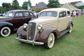 Ford deluxe and chevrolet vintage classics photo of an old photo taken th june ideal for outdoor shows etc Stock Photos