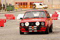 Ford Escort MkII during Rally Verde Pino 2012 Royalty Free Stock Image