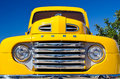 Ford f pickup truck is on display at the nd annual westlake classic car show on october in westlake texas front view details Royalty Free Stock Photos