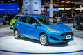 Ford Fiesta at the Chicago Auto Show Royalty Free Stock Photography