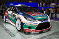 Ford Fiesta RS WRC 2011 Rally Car - Geneva 2011 Royalty Free Stock Photos