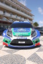Ford Fiesta WRC Stock Photo