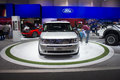 Ford flex front dubai uae november on display at the dubai motor show uae Royalty Free Stock Image