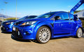 Ford Focus RS Royalty Free Stock Image