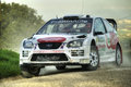 Ford focus wrc rally car Royalty Free Stock Photography