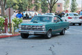 Ford Galaxie car on display Royalty Free Stock Photo