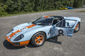 Ford gt gulf Royalty Free Stock Photo
