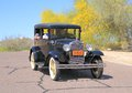 The ford model a of – was the second huge success for the ford motor company after its predecessor the model t seen in Stock Photos