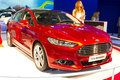 Ford mondeo istanbul autoshow november istanbul turkey Royalty Free Stock Photography