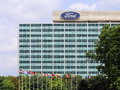 Ford motor company world headquarters dearborn mi usa – july the building located in dearborn michigan is an Royalty Free Stock Image