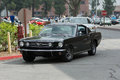 Ford Mustang car on display Royalty Free Stock Photo