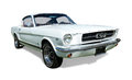 1965 Ford Mustang Fastback Royalty Free Stock Photo