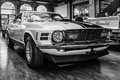 Ford mustang mach berlin germany may cu in l ramair cobra jet is an performance oriented option package of the black Stock Photos