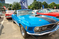Ford mustang mach musle car photo taken on may in bucharest romania Royalty Free Stock Photo