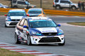Ford Racing Focus ST Royalty Free Stock Image