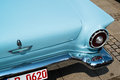 Ford thunderbird classic car detail ludwigsburg germany may a is presented during the emotionen show on the market square on may Royalty Free Stock Image