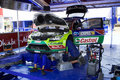Ford WRC team Service Royalty Free Stock Photo