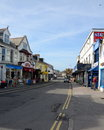 Fore street newquay uk th september in cornwall is situated on the west coast of cornwall and is one of the most Royalty Free Stock Photography