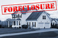 Foreclosure House Stock Photo